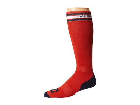 DC - Apache Light 15 Sock (Pureed Pumpkin) Men's Knee High Socks Shoes