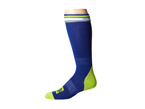 DC - Apache Light 15 Sock (Mazarine Blue) Men's Knee High Socks Shoes