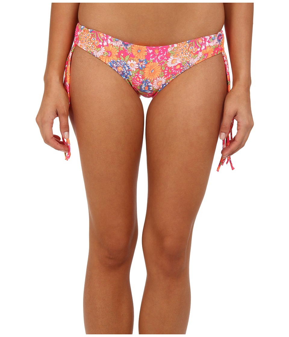 O'Neill - Citrus Floral Cinch Pant (Popstar Pink) Women's Swimwear