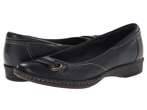 Clarks - Recent Drive (Navy Leather) Women