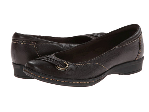 Clarks - Recent Drive (Brown Leather) Women