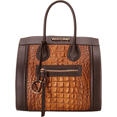 SALE! $502.99 - Save $492 on Valentino Bags by Mario Valentino Cindy Tote (Tan) Bags and Luggage - 49.45% OFF $995.00