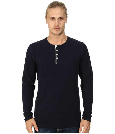 Sovereign Code - Riot L/S Knit (Navy) Men's T Shirt