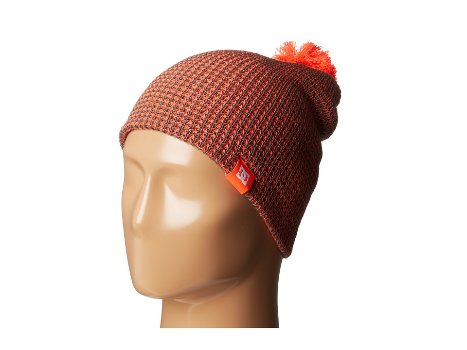 DC - Yippe 15 Beanie (Fiery Coral) Beanies
