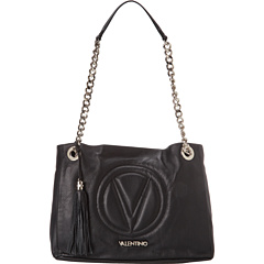 SALE! $497.5 - Save $498 on Valentino Bags by Mario Valentino Sierra Shoulder Bag (Black) Bags and Luggage - 50.00% OFF $995.00