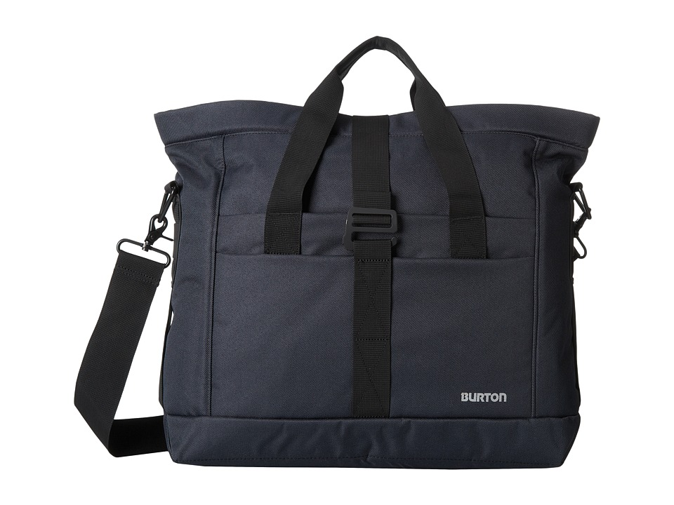 Burton - Charter Messenger (True Black Heather Twill) Messenger Bags