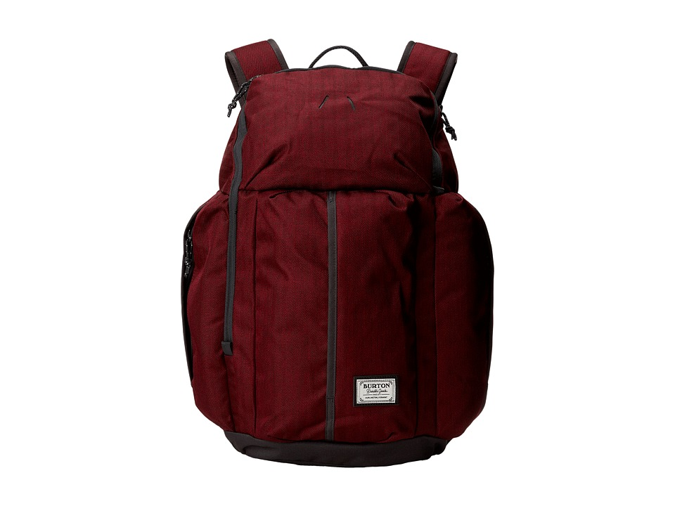 Burton - Cadet Pack (Zinfandel Herringbone) Backpack Bags