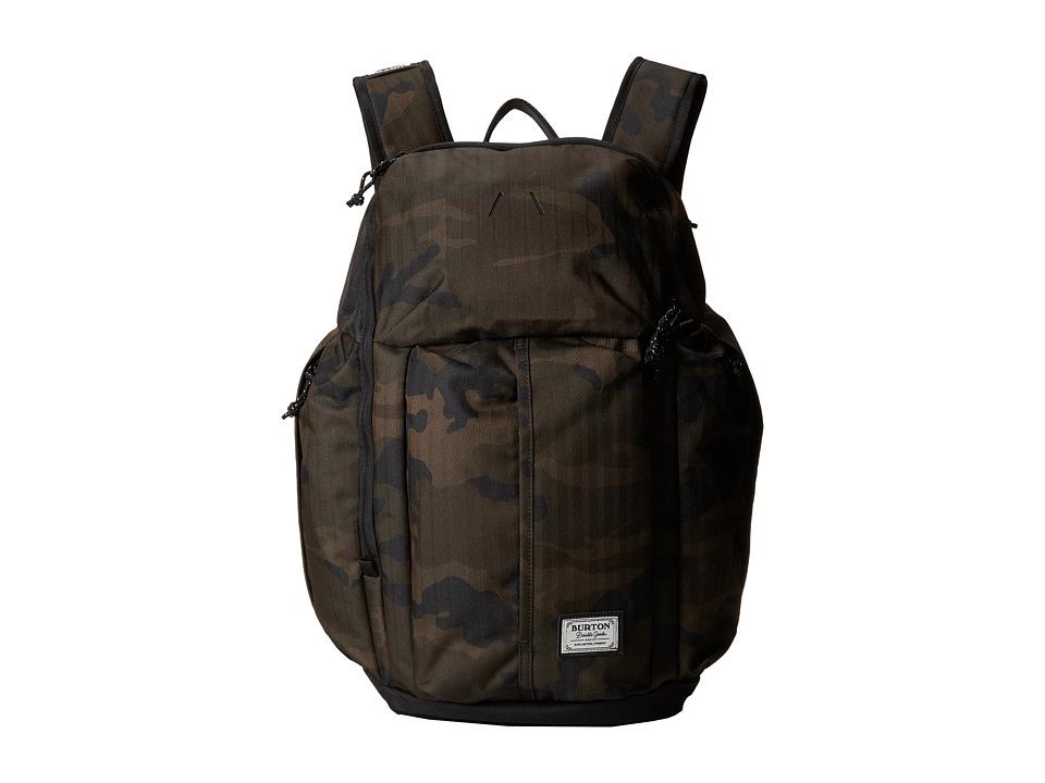 Burton - Cadet Pack (Lowland Camo Herringbone) Backpack Bags