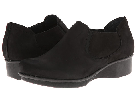 Dansko - Lynn (Black Nubuck) Women's Shoes
