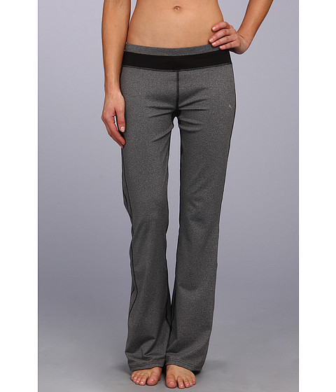 PUMA - Gym Regular Pant (Black Heather) Women