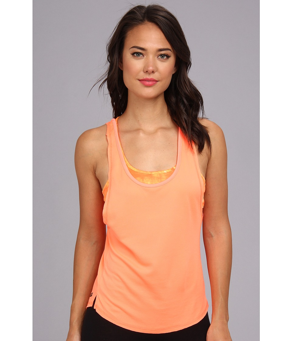 Hurley - Dri-FIT Novelty Tank (Bright Mango) Women