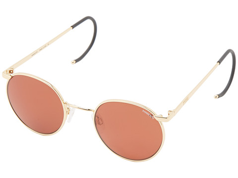 Randolph - P3 49mm Polarized (23k Gold Plated/Copper Polarized PC) Fashion Sunglasses