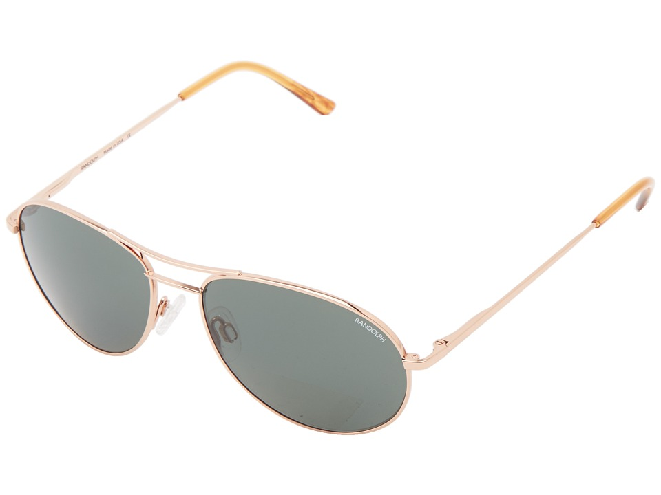 Randolph - Crew Chief II (Rose Gold/AGX Non Polarized PC) Fashion Sunglasses