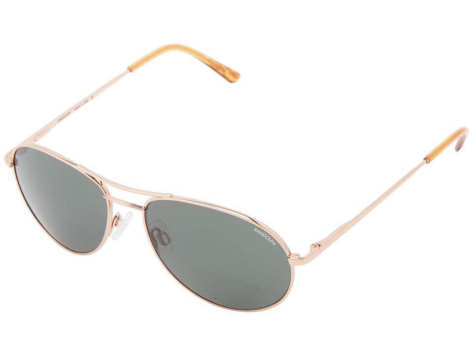 Randolph - Crew Chief II (Rose Gold/AGX Non Polarized PC) Fashion Sunglasses