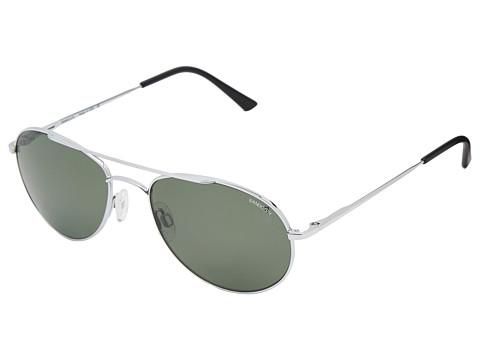 Randolph - Crew Chief 54mm Polarized (Bright Chrome/AGX Polarized PC) Fashion Sunglasses