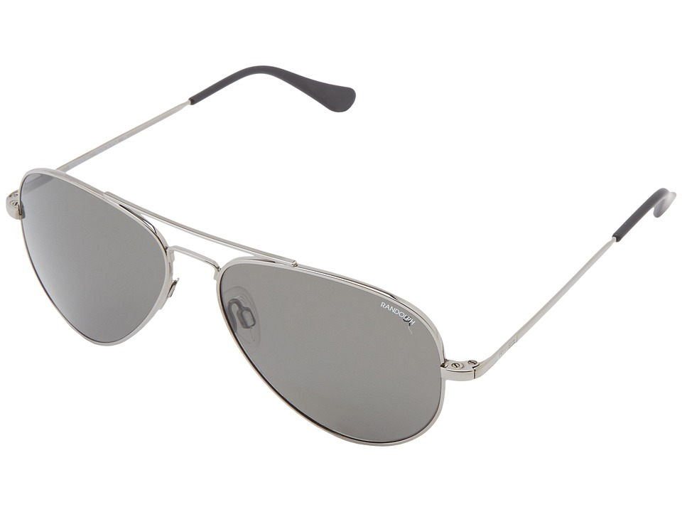 Randolph - Concorde 57mm Polarized (Gun Metal/Gray Polarized) Fashion Sunglasses