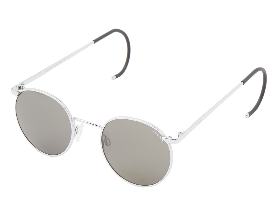 Randolph - P3 49mm (Bright Chrome/Gray Non Polarized) Fashion Sunglasses