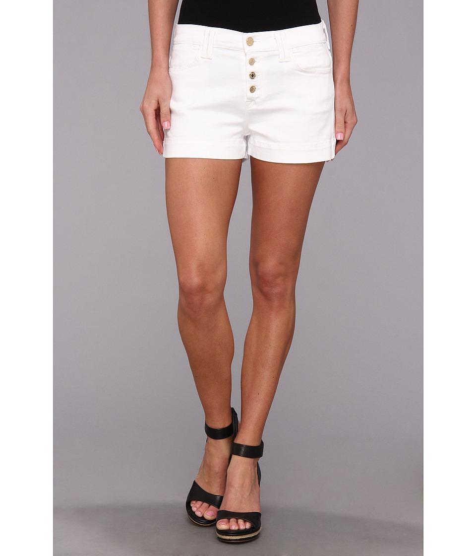 7 For All Mankind - Biancha Short in White Fashion (White Fashion) Women