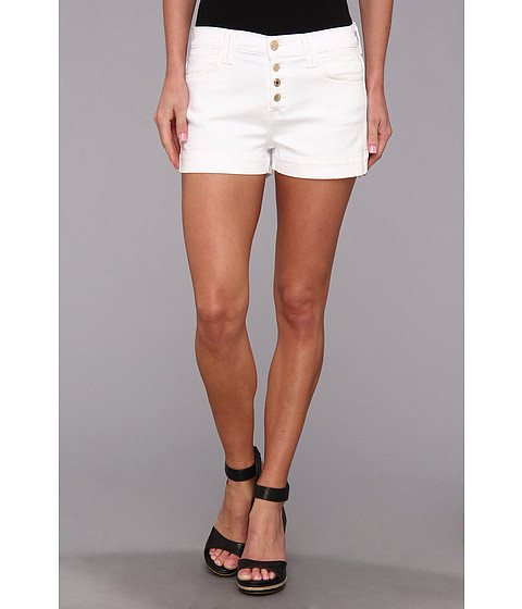 7 For All Mankind - Biancha Short in White Fashion (White Fashion) Women