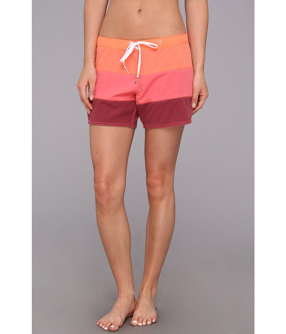 Hurley - Phantom 5 Beachrider (Bright Mango) Women's Swimwear