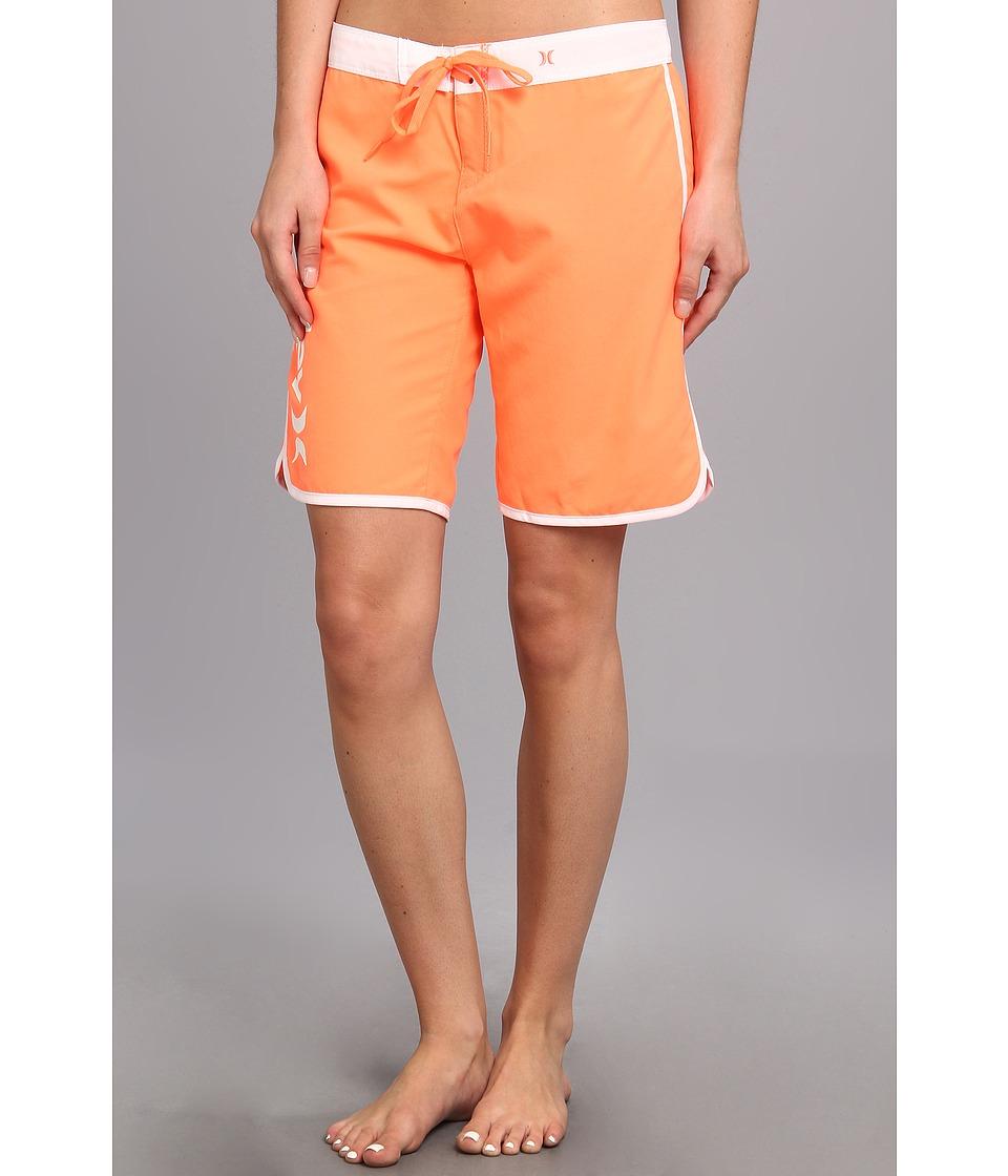 Hurley - Supersuede Solid 9 Beachrider (Bright Mango) Women's Swimwear