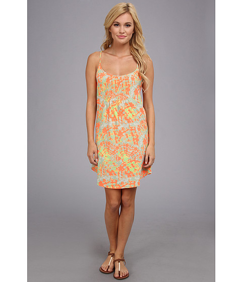 Hurley - Teddi Dress (Bright Mango Tie Dye) Women's Dress