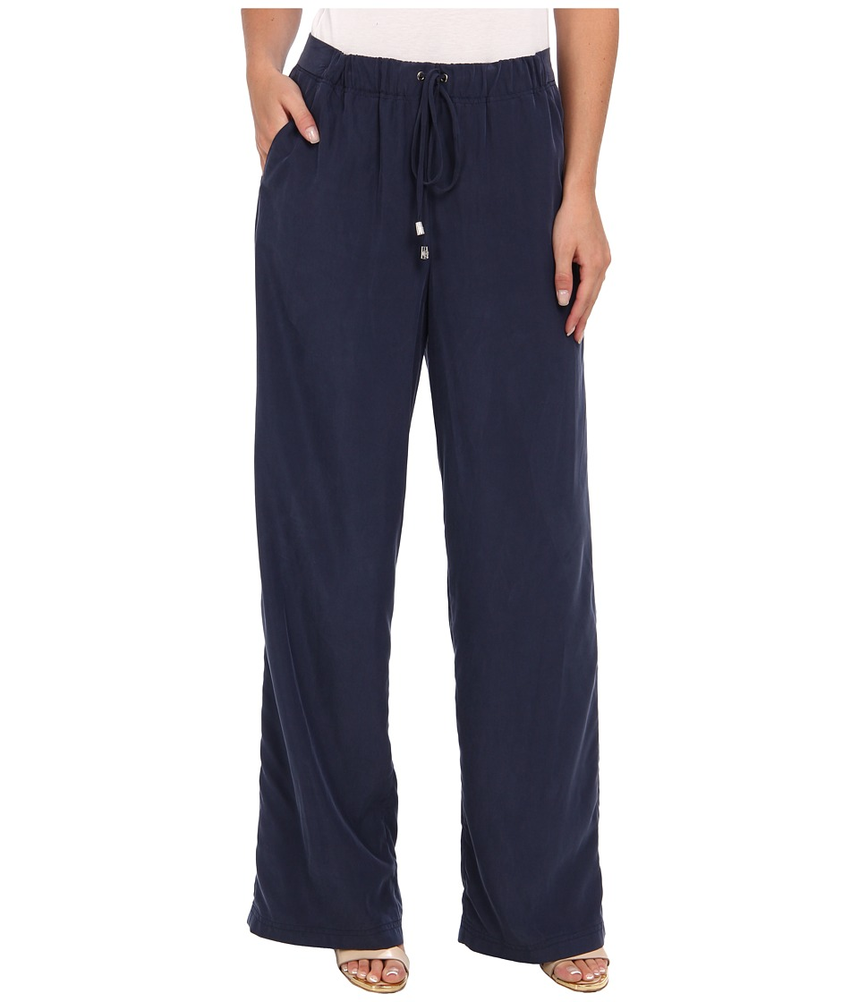 Vince Camuto - Wide Leg Drawstring Pant (Blue Night) Women's Casual Pants