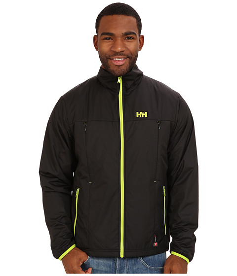 Helly Hansen - Regulate Midlayer Jacket (Black/Lime) Boy's Jacket