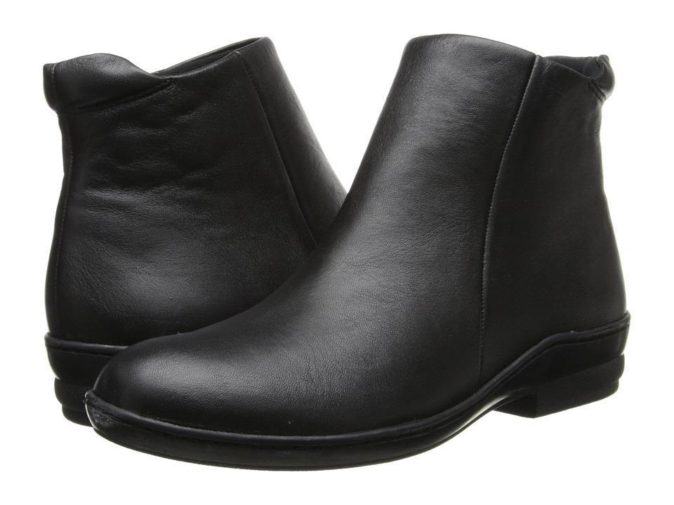David Tate - Simplicity (Black Calfskin) Women's Zip Boots