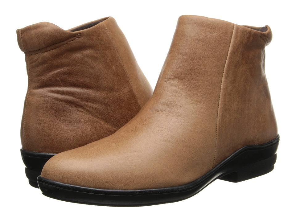 David Tate - Simplicity (Luggage Calfskin) Women's Zip Boots
