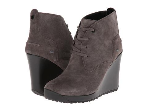 Lacoste - Jarriselle (Dark Grey) Women's Dress Lace-up Boots