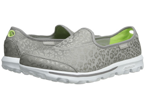 SKECHERS Performance - Go Walk - Safari (Silver) Women