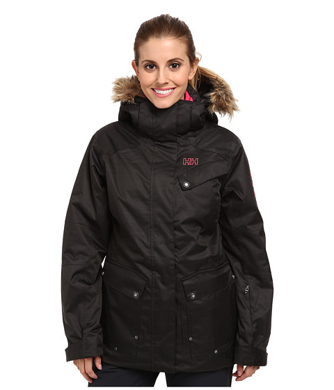 Helly Hansen - Harmony Jacket (Ebony) Girl's Coat