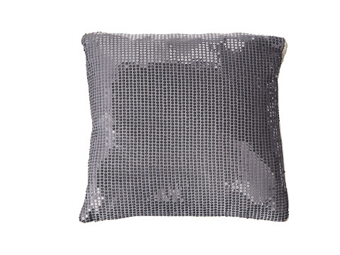 Vince Camuto - Berlin Sequen Pewter Dec Pillow (Gray) Sheets Bedding