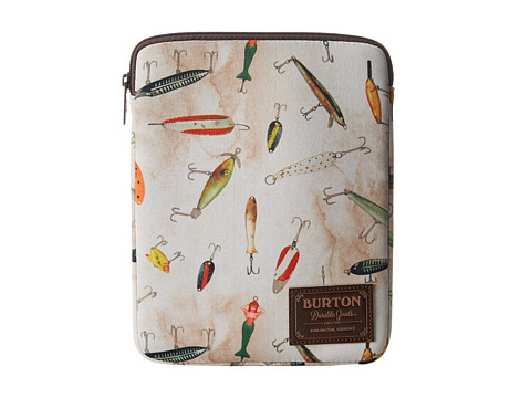Burton Tablet Sleeve (Fishing Lures Print) Computer Bags