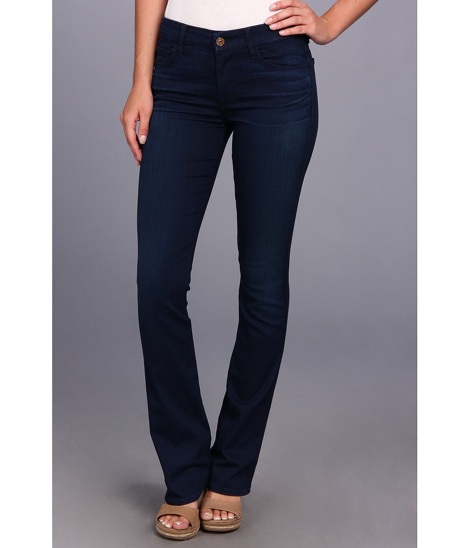 7 For All Mankind - Skinny Bootcut in Second Skin Slim Illusion Dark Blue (Second Skin Slim Illusion Dark Blue) Women