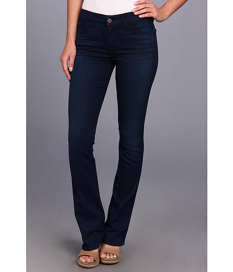 7 For All Mankind - Skinny Bootcut in Second Skin Slim Illusion Dark Blue (Second Skin Slim Illusion Dark Blue) Women's Jeans