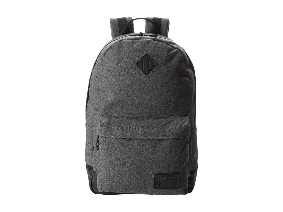 Burton - Kettle Pack (Gray Wool Leather) Day Pack Bags