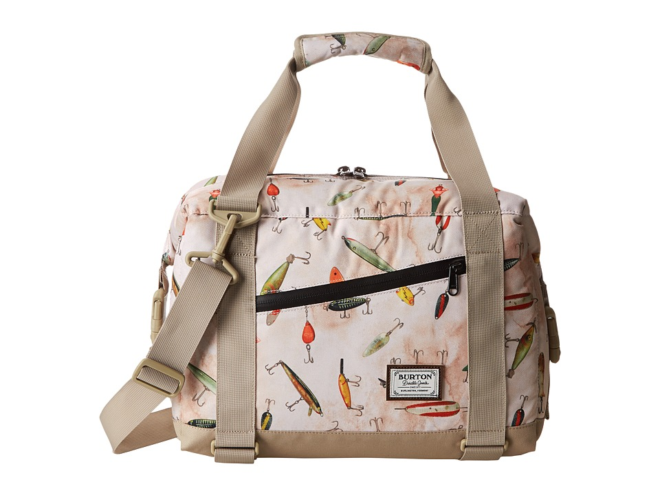 Burton - Lil Buddy Cooler (Fishing Lures Print) Day Pack Bags