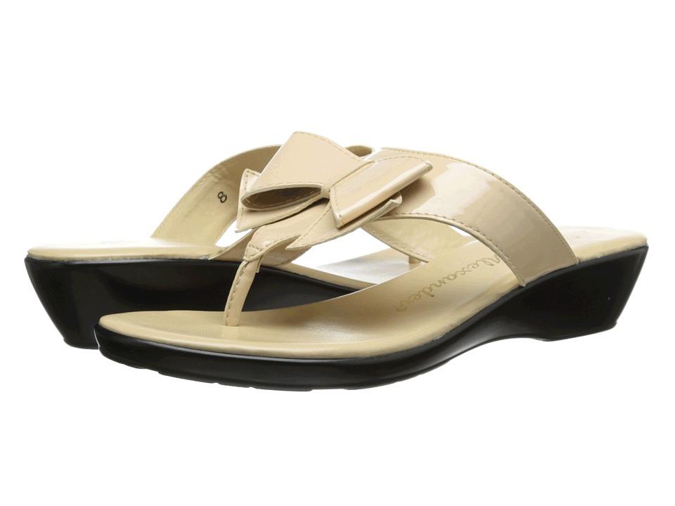 Athena Alexander - Brink (Nude Patent) Women's Sandals