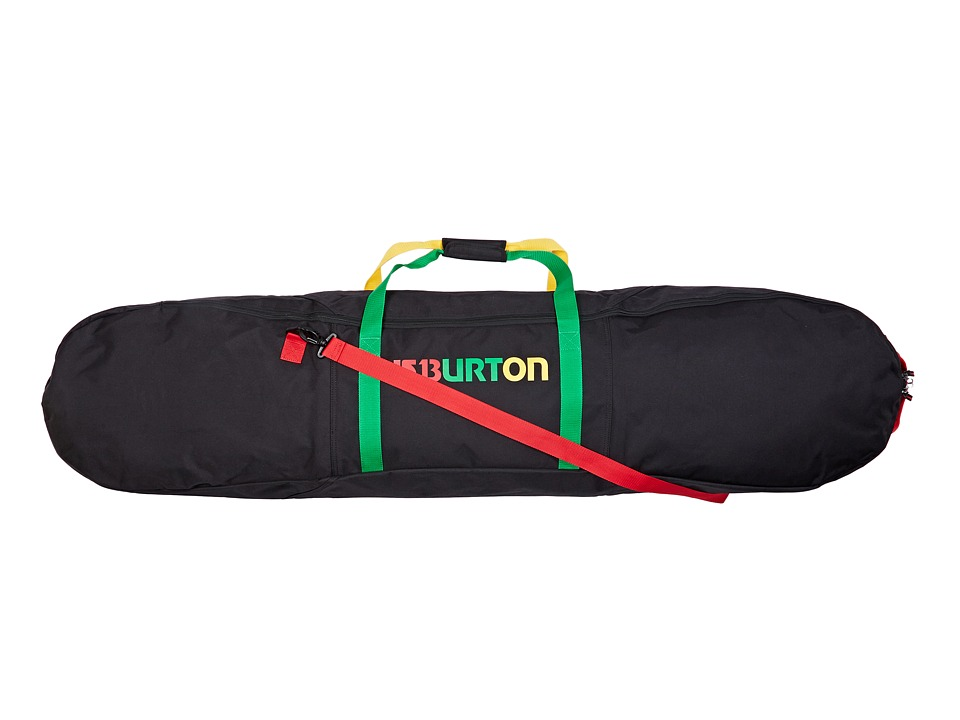 Burton - Space Sack (Rasta 146CM) Snowboards Sports Equipment