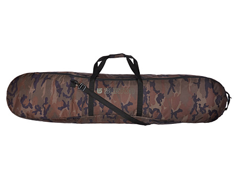 Burton - Space Sack (Lowland Camo 166CM) Snowboards Sports Equipment