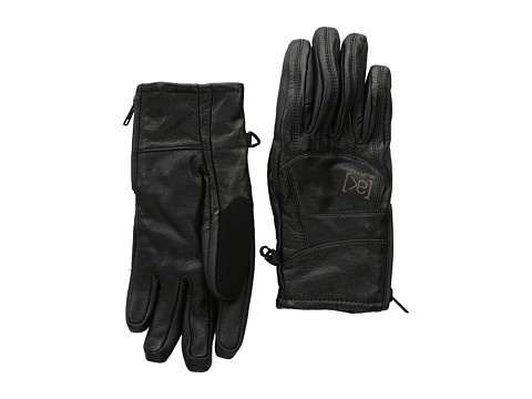 Burton - [ak] Leather Tech Glove (True Black) Extreme Cold Weather Gloves