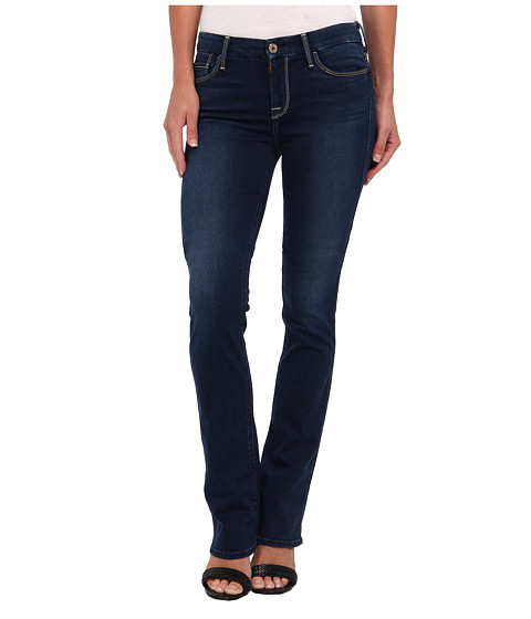 7 For All Mankind - Slim Illusion LUXE Skinny Bootcut in Brilliant Blue (Brilliant Blue) Women's Jeans