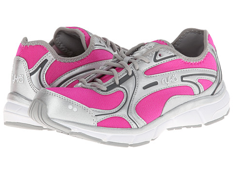 Ryka - Prodigy 2 Stretch (Athena Pink/Chrome Silver/Steel Grey/White) Women
