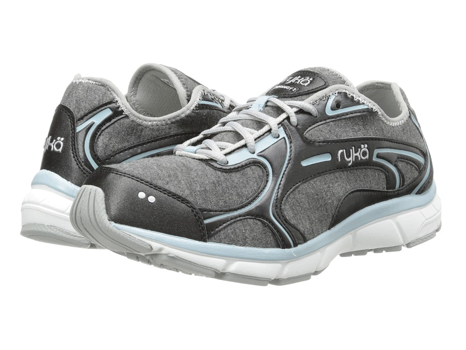 Ryka - Prodigy 2 Stretch (Black/Sterling Blue/Chrome Silver) Women's Shoes
