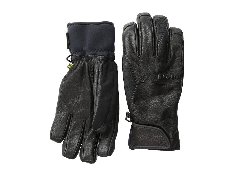 Burton - Gondy GORE-TEX Leather Glove (True Black '16) Extreme Cold Weather Gloves