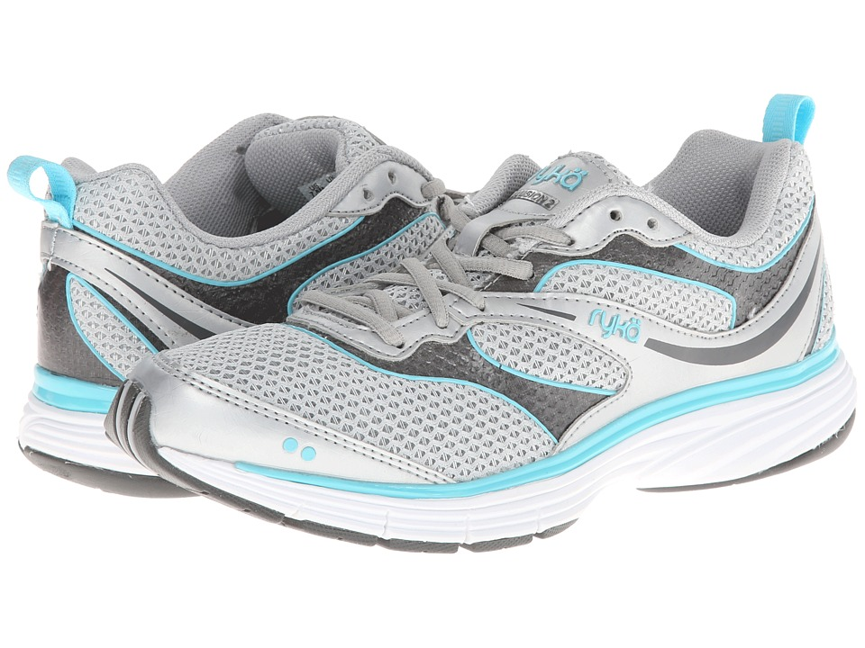 Ryka - Illusion 2 (Chrome Silver/Steel Grey/Winter Blue) Women's Running Shoes