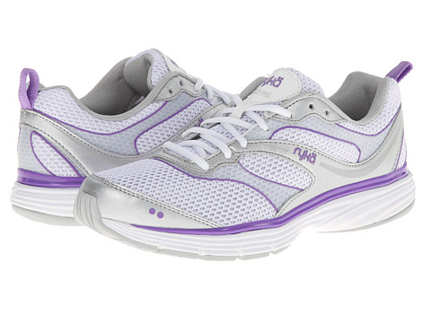 Ryka - Illusion 2 (White/Chrome Silver/Cool Mist Grey/Deep Lilac) Women