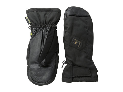 Burton - GORE-TEX Leather Mitt (True Black) Extreme Cold Weather Gloves